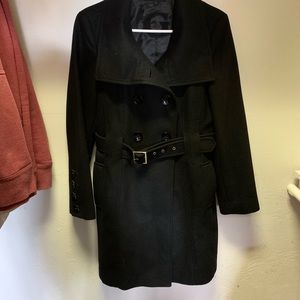 Guess Wool Trench Coat with belt